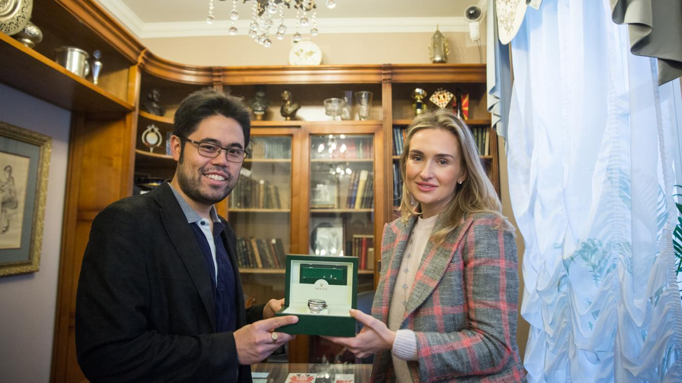 3 Winners In Moscow; Rolex For Nakamura