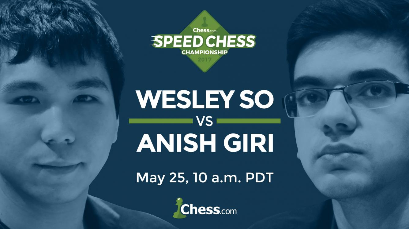 Giri, So To Face Off Thursday In Speed Chess Match