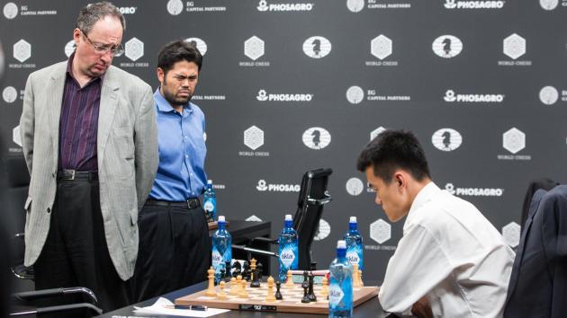 Ding slo Gelfand, vant Moskva Grand Prix