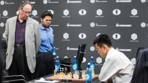 Miniatura de Ding Liren vence a Guélfand y gana el GP de Moscú