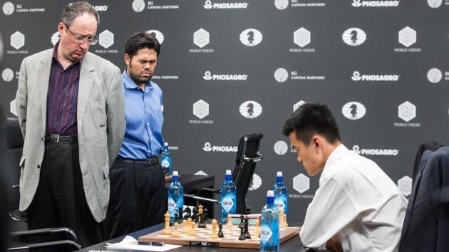 Ding bat Gelfand, et remporte le GP de Moscou
