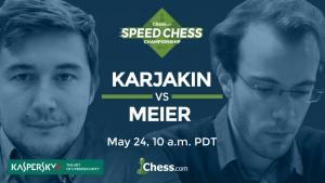 Speedschach Meisterschaft: Karjakin gegen Meier's Thumbnail