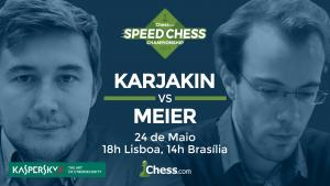 Speed Chess Championship Continua Com Karjakin vs Meier's Thumbnail