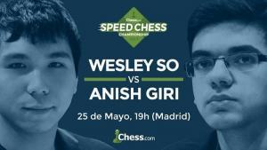 Giri y So se enfrentan hoy en el match del Speed Chess's Thumbnail