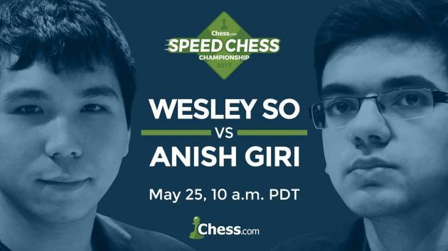Giri, So Defrontam-se Quinta-feira no Speed Chess Match