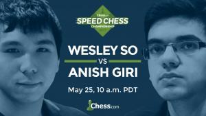 Speedschach Meisterschaft: Wesley So gegen Giri am Donnerstag's Thumbnail