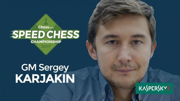 Karjakin besiegt Georg Meier im Speed Chess