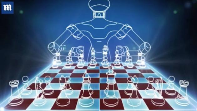 Robot que juega al ajedrez; DEP Kupreichik y Tatai