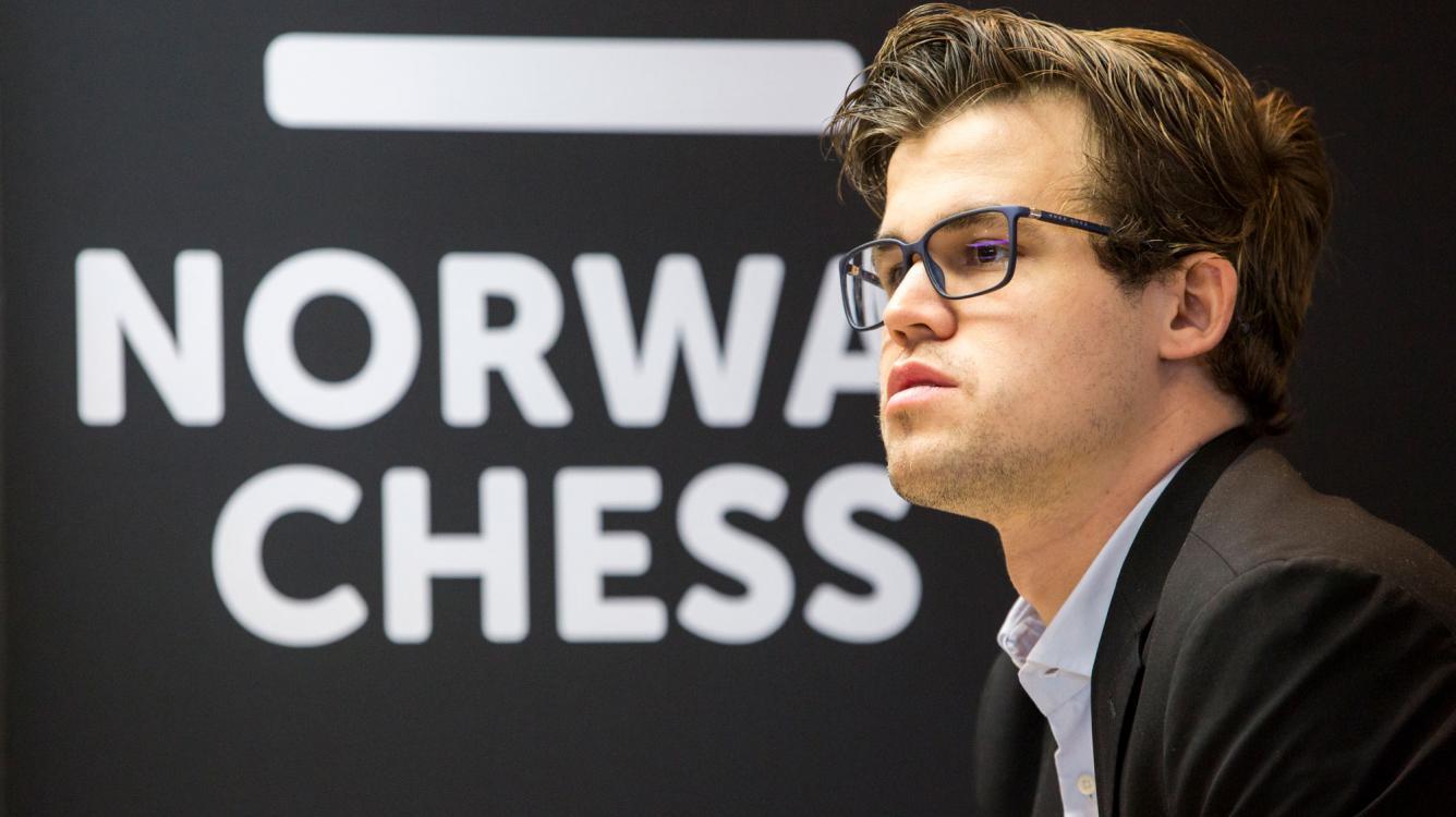 Carlsen Scores Big In Norway Chess Blitz Opener