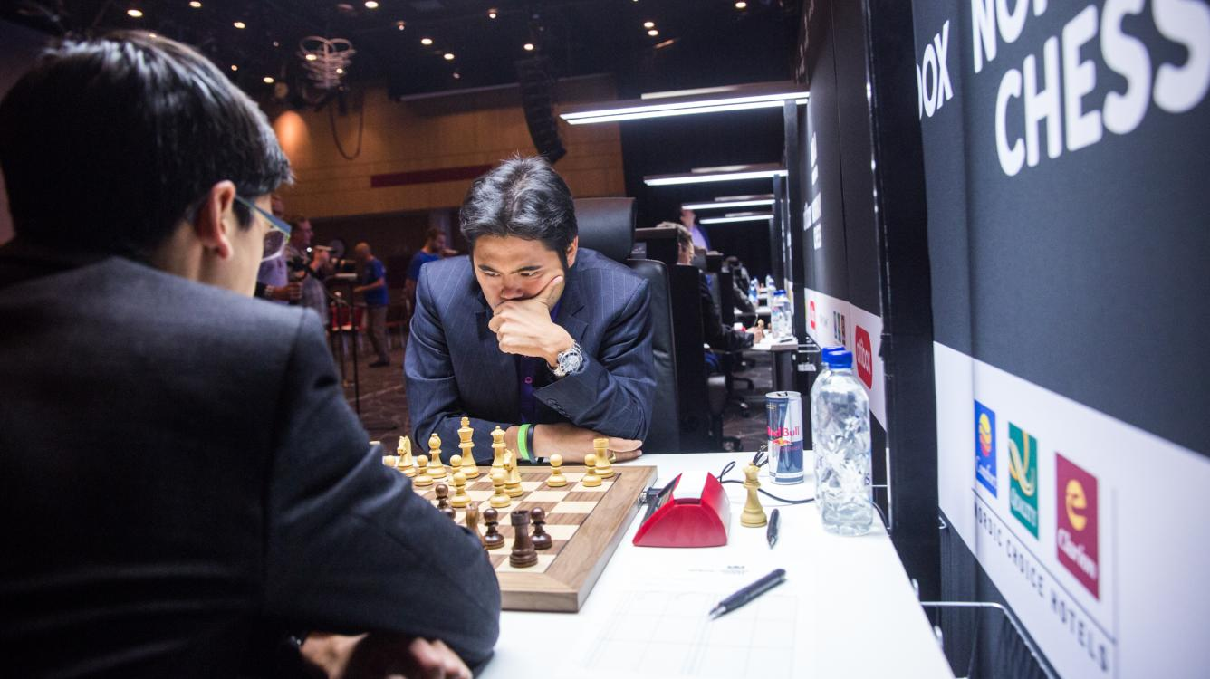 Nakamura Grabs Lead In Norway 1st Round