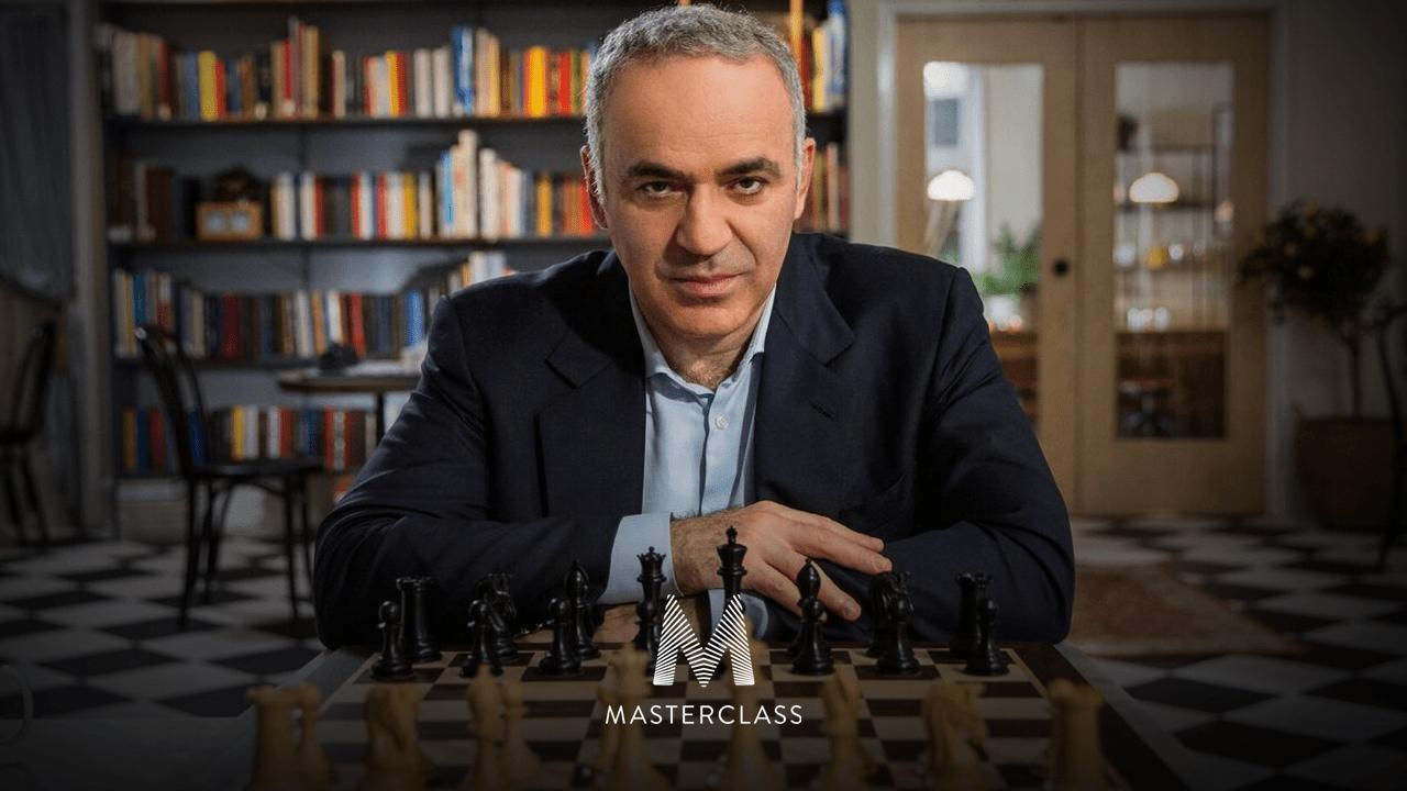 Kasparov Teaches Chess Online; MasterClass Sponsors Speed Chess Championship