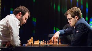 Miniatura de Carlsen y So comienzan a la cabeza en París
