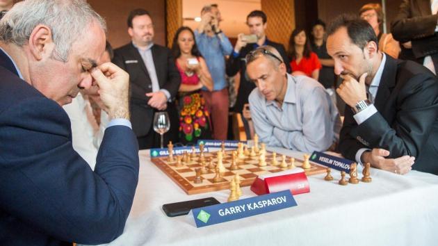 Grand Chess Tour Paris'te Başladı