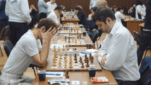 Tactics Abound As Russia Leads In World Team Championship