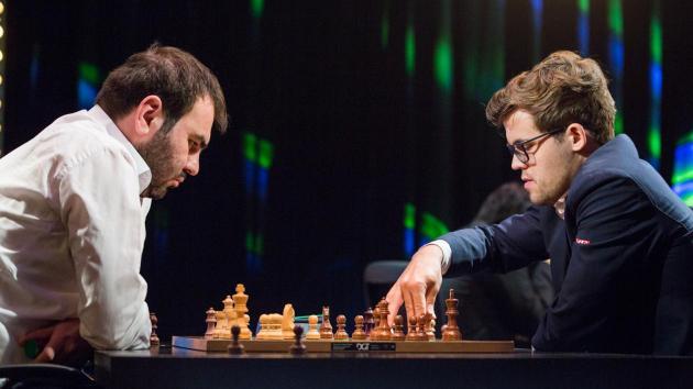 Carlsen, So Lideram Cedo em Paris
