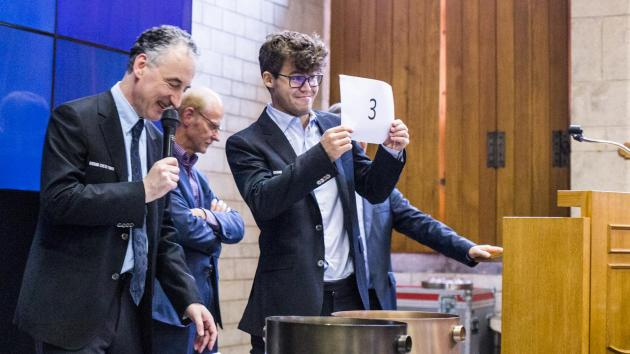 Grand Chess Tour Resumes Weds. In Leuven