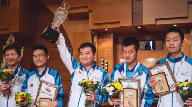 Sino-Russian Double Golds And Silvers At World Teams