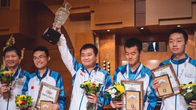 Китай и Россия дважды делят пьедестал на Командном чемпионате мира
