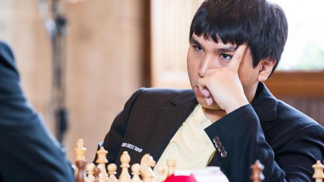 So toujours en tête du Grand Chess Tour de Louvain