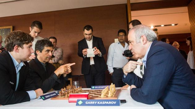 Kasparov To Play St. Louis Rapid, Blitz