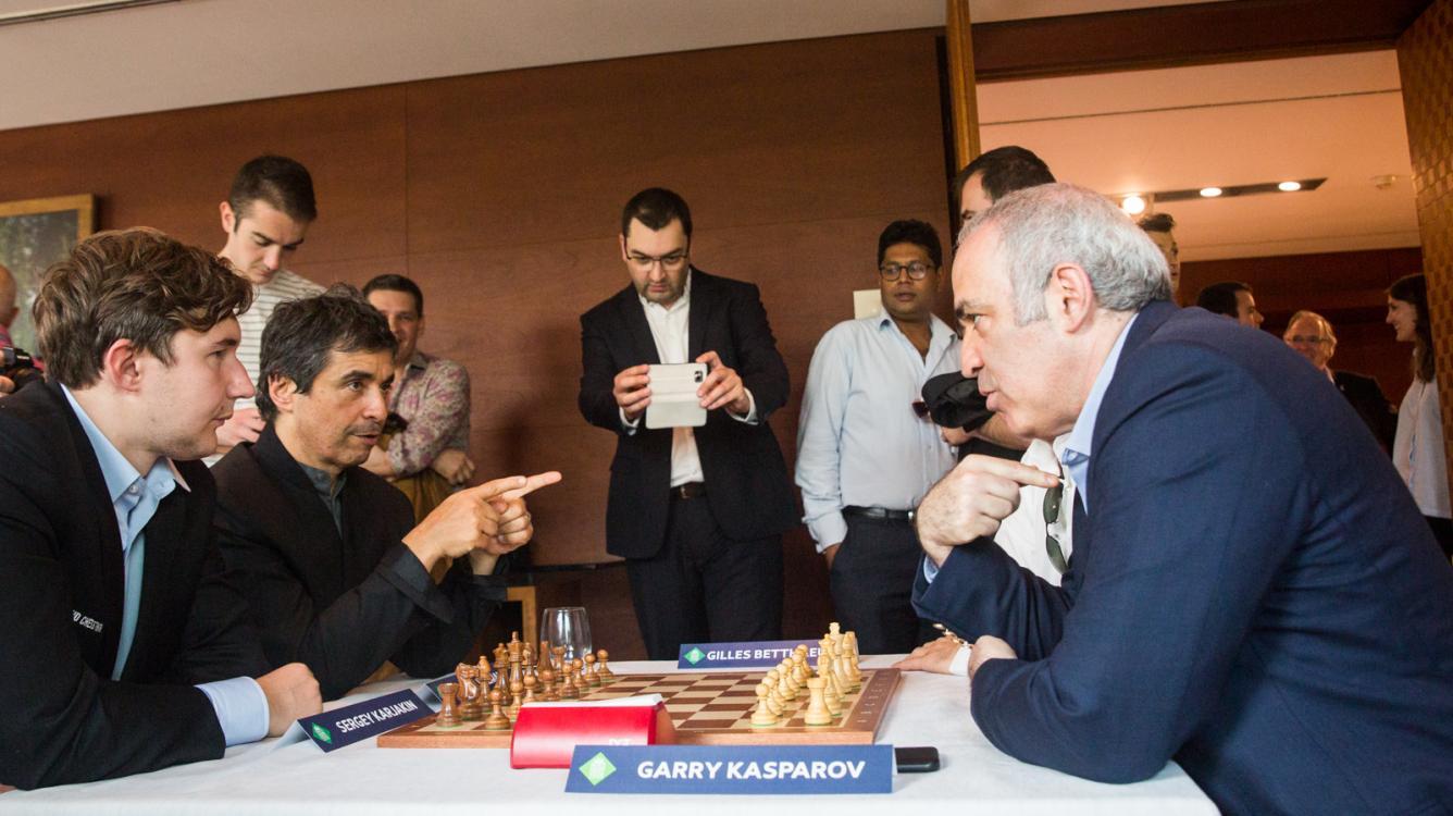 Kasparov To Play St. Louis Rapid, Blitz