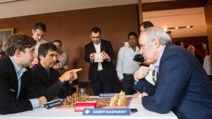 Miniature de Kasparov jouera en blitz et rapide à Saint Louis!