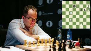 Miniatura de Eljánov-Nepómniachtchi: ¿Era el final de peones ganador?