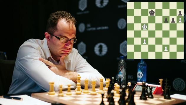 Eljánov-Nepómniachtchi: ¿Era el final de peones ganador?