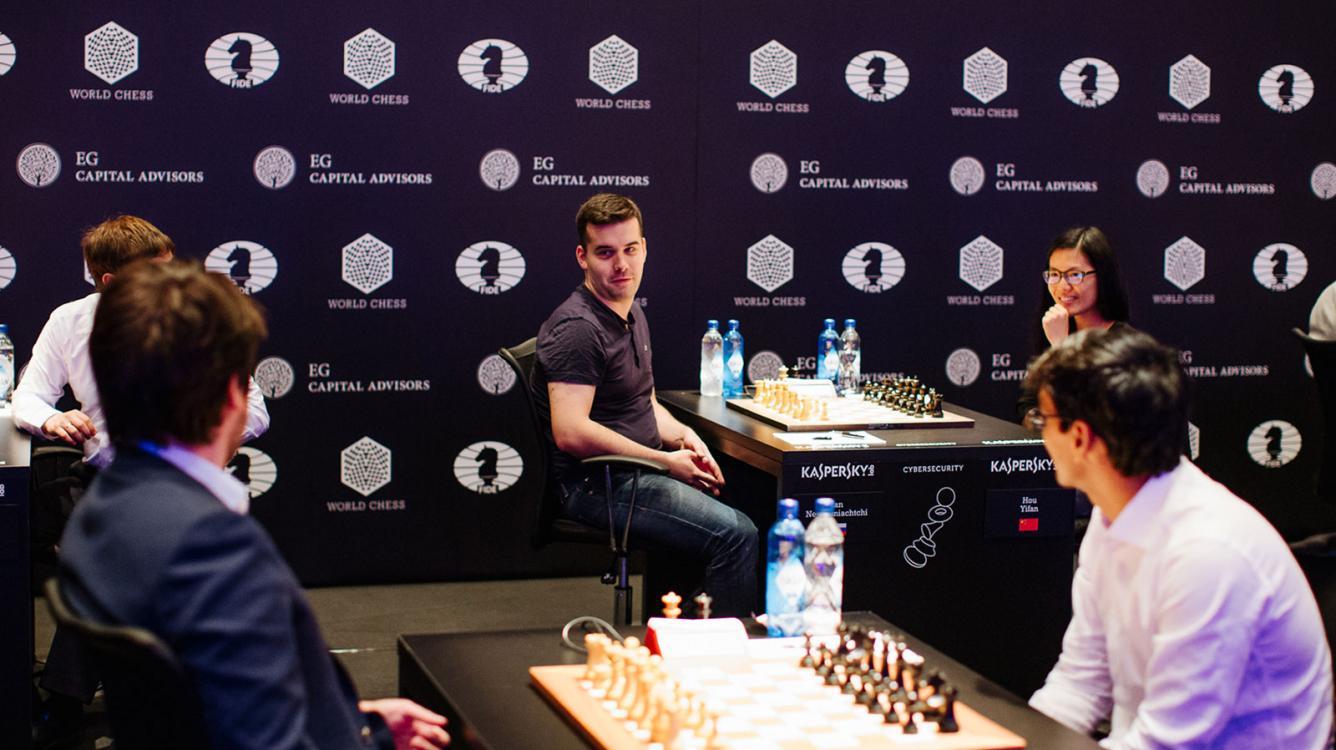 Nepomniachtchi, Salem, Svidler Win In Geneva Round 4