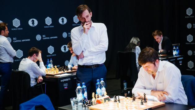 Genf, Runde 5: Grischuk schließt zu Radjabov auf
