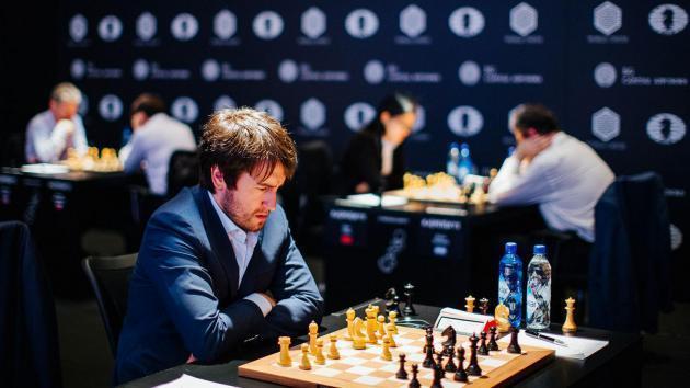 Genf, Runde 7: Radjabov übernimmt die Führung