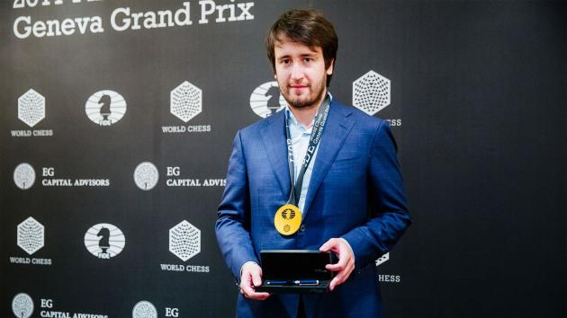 Radjábov gana el Gran Premio de la FIDE en Ginebra