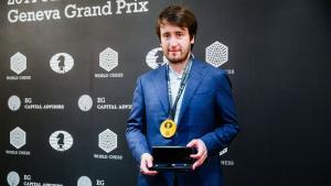 Miniature de Radjabov gagne le Grand Prix FIDE Genève