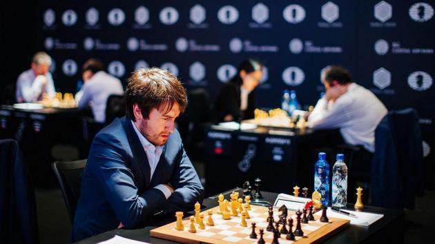 Radjabov Salta Para a Frente em Genebra