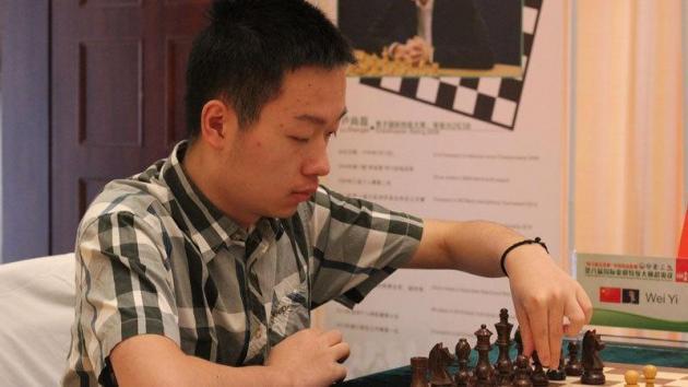 Wei Yi vant Danzhou -  klatrer til nummer 14 i verden