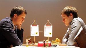Cztery remisy w Dortmundzie; Wojtaszek nadal liderem's miniatury