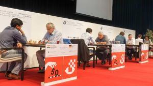 Miniatura de Hort, Karpov y Vaganian en acción en el 50º Festival de Biel
