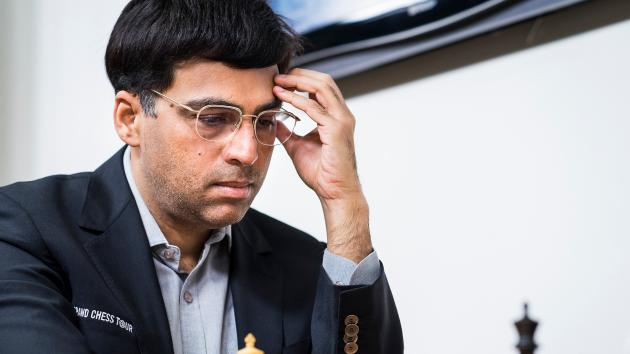 Anand Wins Brilliancy vs Caruana; Carlsen Defeats So