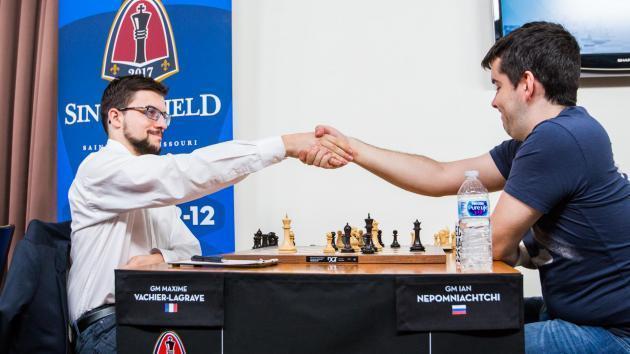 Maxime Vachier-Lagrave gewinnt den Sinquefield Cup 2017
