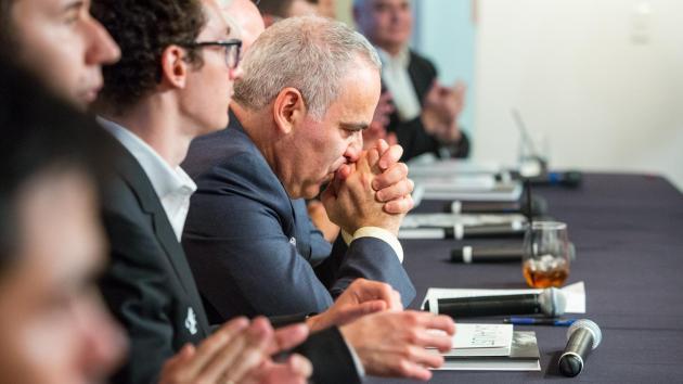 Das warten auf Kasparov hat ein Ende