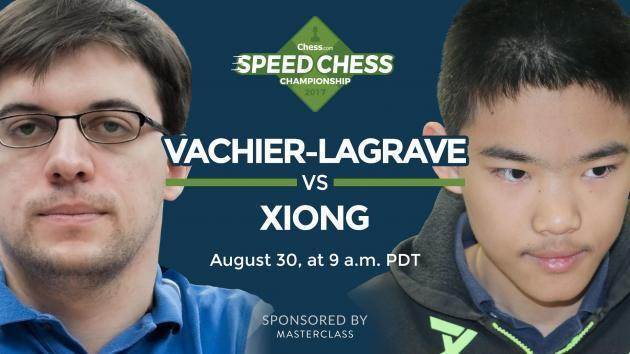 Speed Chess Meisterschaft: Der Franzose gegen den X-Man