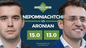 """Miniatura di Nepomniachtchi Supera Aronian In Un Match Ad Alta Tensione Dello """"Speed Chess"""""""