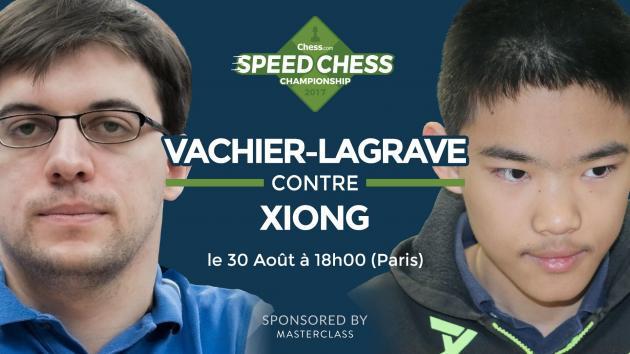 Speed Chess Championship: Maxime affronte un X-Man !