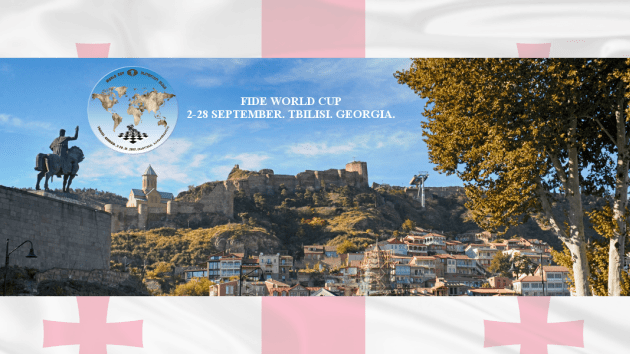 La coupe du monde de la FIDE commence ce week-end