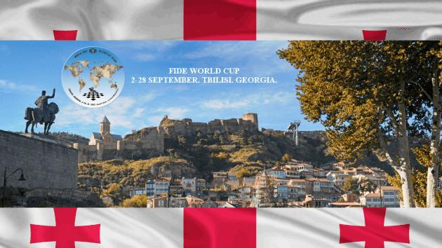 Arranca la Copa del Mundo de ajedrez en Georgia
