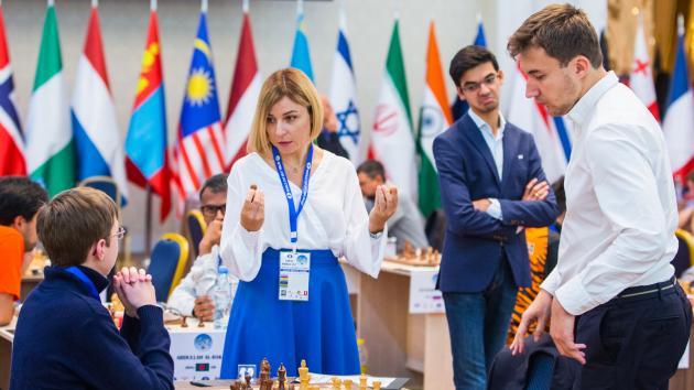 Lenderman elimina a Eljánov en la Copa del Mundo