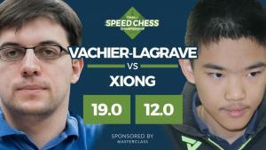 MVL Esmaga Xiong No Xadrez Rápido Dos Campeões