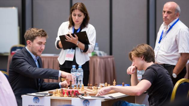 Adams, Anand y Karjakin eliminados de la Copa del Mundo