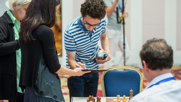 Für Caruana, Li Chao und Nepomniachtchi ist der Weltcup vorbei