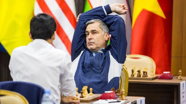 Ivanchuk og Fedoseev startet fjerde runde med seier